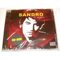 Sandro Lo Mejor Cd +dvd Nuevo Y Sellado