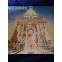 Powerslave Iron Maiden Vinilo Autografiado Y Certificado