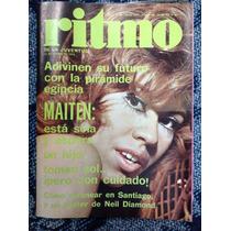 Revista Ritmo Maiten Montenegro Nº 488, Año 9, Enero 1975