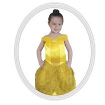 Disfraz De Niña Disney Bella 6 A 7 Años
