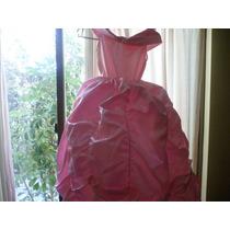 Ultimo Disfraz Princesa En Color Rosa Claro Y Lila Clarito