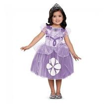 Disfraz Niña Princesa Sofia Original C/coron Disney Talla7-8