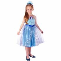 Disfraz Elsa Frozen Original Talla 4-6