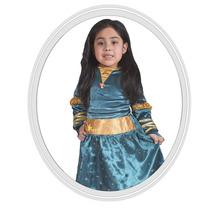 Disfraz De Niña Disney Brave Valiente 6 A 7 Años