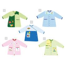 Delantal Uniforme Jardin Pre Kinder Con Diseños