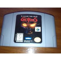 Juego Nightmare Creatures Nintendo 64.-