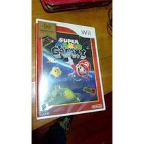 Mario Galaxi Wii Nintendo Nuevo Sellado