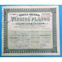 Acciones Fabrica Nacional De Vidrios Planos S. A. - 1959.