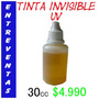 Tinta Invisible Reaccion Uv Para Marcar Entradas 30cc $4.990