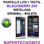 Pantalla Lcd + Tactil Blackberry Z30 Instalada Boleta