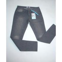 Jeans Pitillo Opposite Nuevo Talla :36 Elasticado.