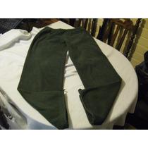 Pantalon De Buzo De Mujer Tommy Hilfiger Talla S Color Verde
