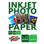 Papel 100 Hojas A4 Fotografico Premium Brillante 130 Grs