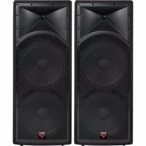 Par De Cajas Acústicas Cerwin Vega Int-252 V2 Dual 15 700w