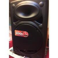 Parlante 200 W Karaoke O Amplificador Con Batería Interma