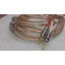Cable Hi Fi Grueso Ideal Sub Libre Oxigeno Alta Calidad Con
