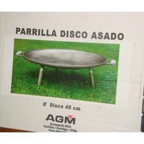 Parrilla Disco Asado Agm 45 Cms De Diámetro