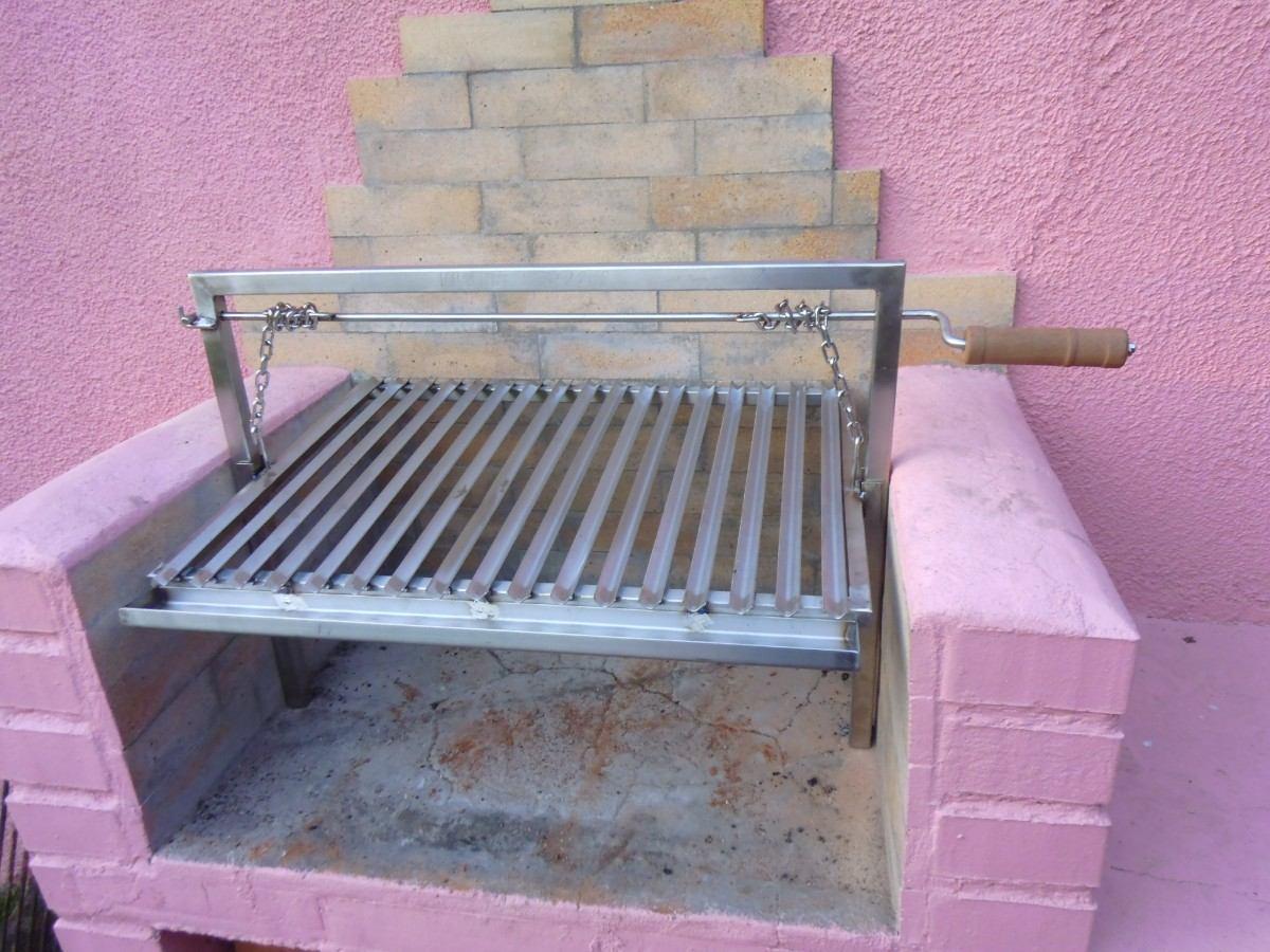 Parrillas para asados en acero inoxidable en for Parrilla para una casa