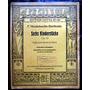 Partitura Mendelssohn - Bartholdy Piano 0p.72 Edition Cotta