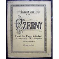 Czerny Collection Litolff N°1793 Op.740 Clemens Schultze