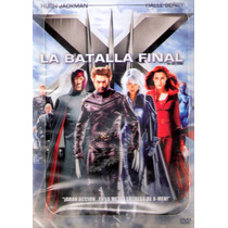 Animeantof: Dvd X-men La Batalla Final - Ed.1 Disco- Navidad