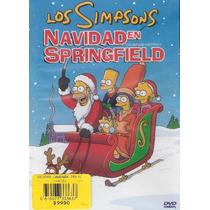 Dvd Original: Los Simpsons Navidad En Springfield Christmas