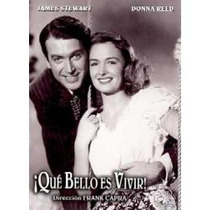Dvd Original: Que Bello Es Vivir- Clasico 1946 Imperdible