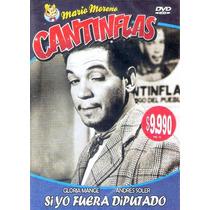 Animeantof: Dvd Cantinflas Si Yo Fuera Diputado- Gloria Mang