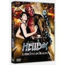 Dvd Original : Hellboy Ii El Ejercito Dorado - Original