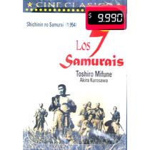 Dvd Original: Los Siete Samurais - Akira Kurosawa 7 Samurai
