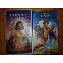 El Principe De Egipto Y Jose Rey De Los Sueños Vhs