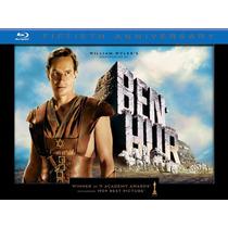 Blu Ray Ben Hur 50 Aniversario Box Set Edicion Limitada!!!
