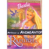 Animeantof: Dvd Barbie Rapunzel - Navidad- Valentin- Madre
