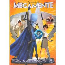 Animeantof: Dvd Megamente Movie - Megamind Dreamwork Animado