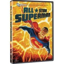 Dvd Original: All Star Superman- Dc Comic- Navidad- Dia Niño