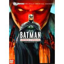 Batman El Misterio De La Capucha Roja Under The Red Hood Dvd