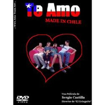Animeantof: Dvd Te Amo Made In Chile- Sergio Castilla-patria