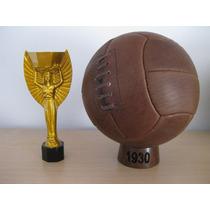 Balón Oficial Mundial Uruguay 1930. Modelo Dos Gajos.