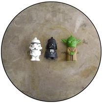 Pendrive Diferentes Personajes De Star Wars 4gb