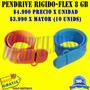 Pendrive Regla Flexible 8 Gb