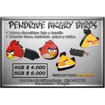 Pendriver Angry Birds De 4gb Y 8 Gb