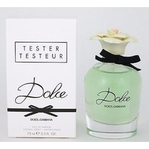 Perfume D&g Dolce Tester 75ml Vende Importadora Glamourous
