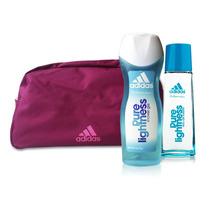 Adidas Pure Lightness Set- Edt 50ml+sg 250ml+necessaire