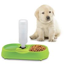 Dispensador Agua Y Plato Comida Perros Y Gatos