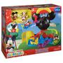 Casa De Mickey Mouse C/ Tobogán Y Aeroplano Fisher-price.