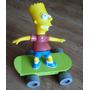 Bart Simpsons En Patineta
