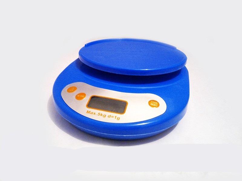 Pesa balanza digital cocina de 1g a 5kg en for Balanza cocina 0 1 g