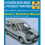 Manual De Taller Peugeot Partner 1996-2005
