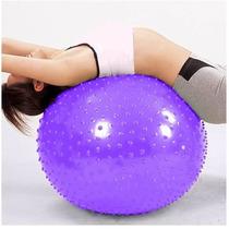 Pelota Balon Pilates Massage Erizo 65cm Yoga Rehabilitación