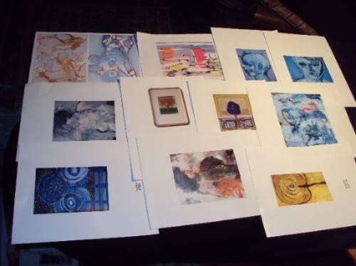Pinturas Chilenas Colección Para Enmarcar (10) - $ 6.000 en
